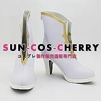 【サイズ選択可】コスプレ靴 ブーツ K-1971 マクロスF シェリル・ノーム Sheryl Nome 女性25CM