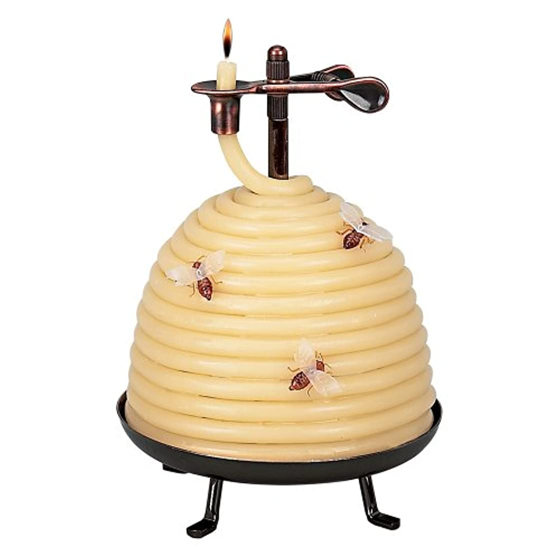 大聖堂中庭中庭Candle By The Hour 20641B 70 Hour Beehive Coil Candle
