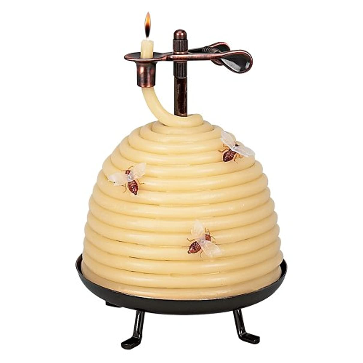 ノベルティクッション慎重Candle By The Hour 20641B 70 Hour Beehive Coil Candle