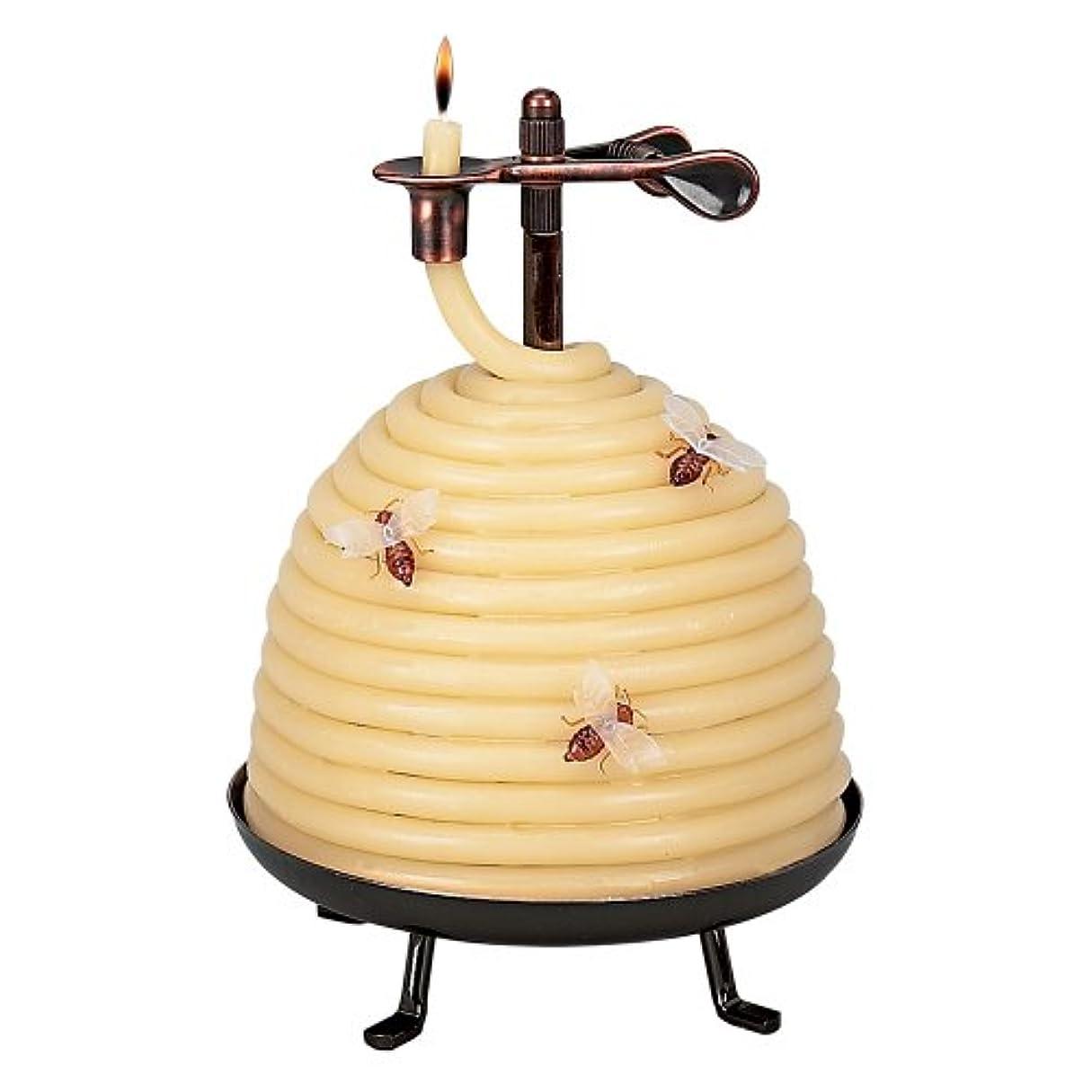 ラフお客様海賊Candle By The Hour 20641B 70 Hour Beehive Coil Candle