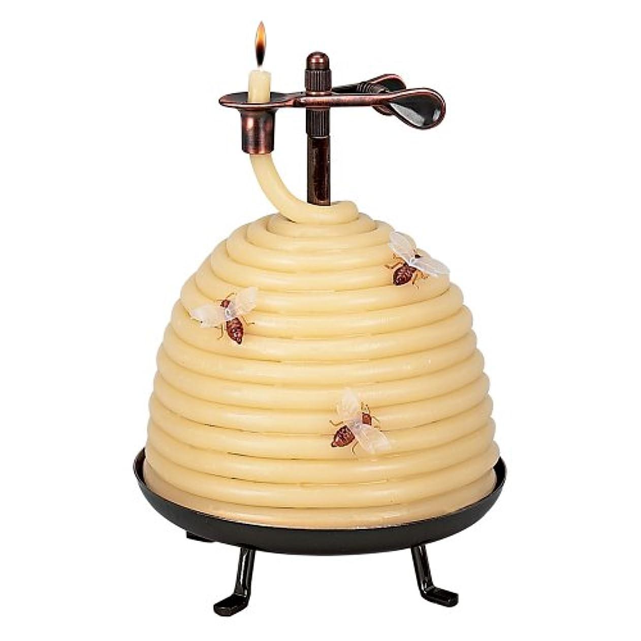 庭園襟収容するCandle By The Hour 20641B 70 Hour Beehive Coil Candle