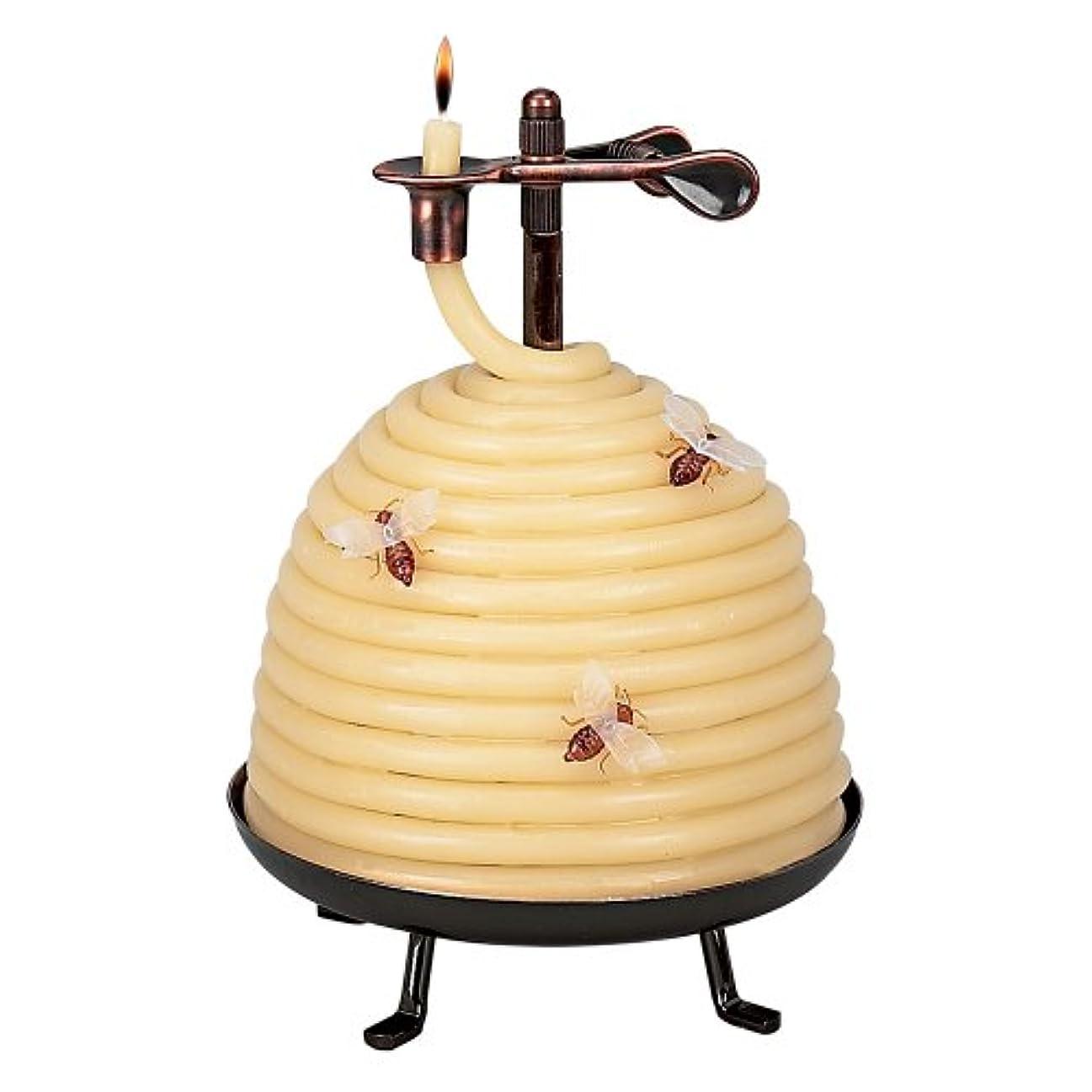 付添人書士地域のCandle By The Hour 20641B 70 Hour Beehive Coil Candle