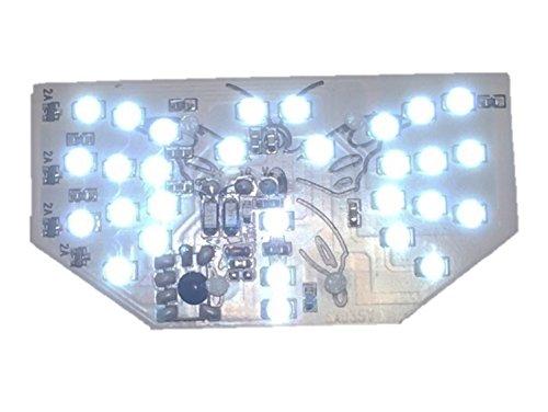 (nakira) 羽ばたく テールランプ フェアリー風 汎用 LED S25ダブル球 BAY15D バリオス CB400F GS400 など 447 (白 ホワイト)
