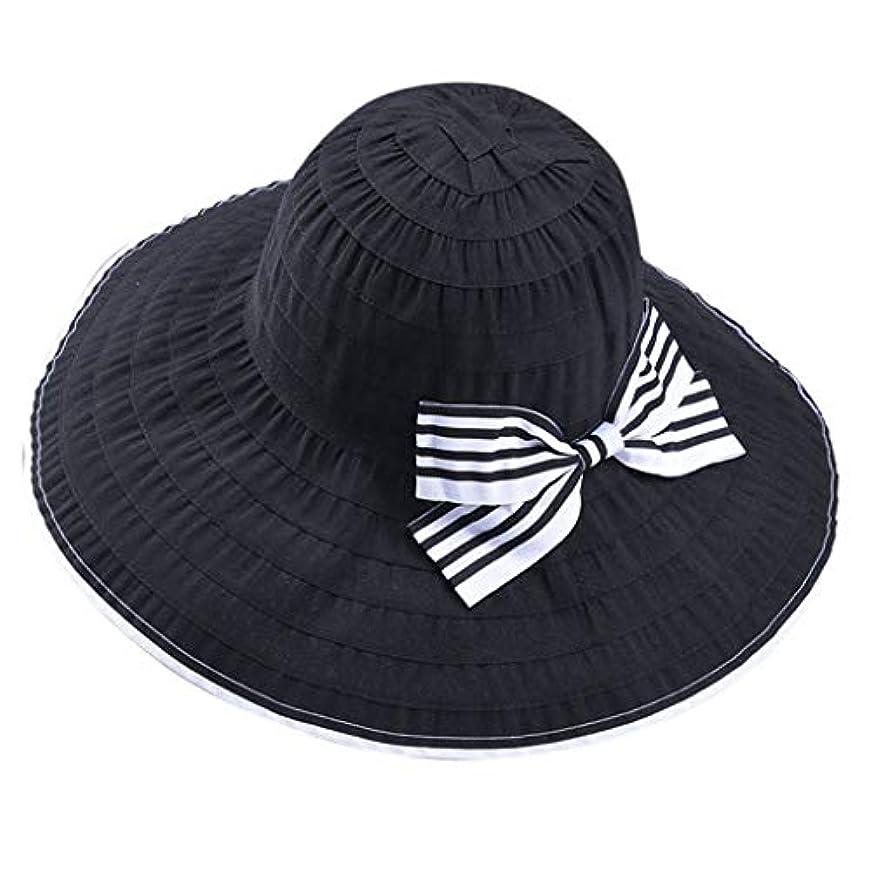 甲虫相談する窒息させる帽子 サイズ調整 テープ ハット 黒 ニット帽 ビーチサンダル ターバン 夏 ベレー帽 レディース 女優帽 日よけ 熱中症予防 日焼け 折りたたみ 持ち運び つば広 自転車 飛ばない 夏 春 サイドリボン ROSE ROMAN