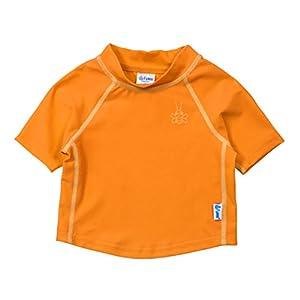i play アイプレイ iplay ラッシュガード 半袖 UPF50+ UVカット ベビー キッズ 水着 3T:2-3歳 オレンジ