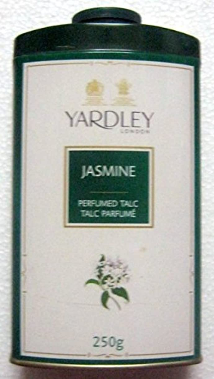 今晩代表するモデレータYardley London Jasmine Perfumed Talc - 250 g. 808 oz - India