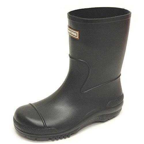 [アキレス] ACHILLES モントレ MONTRRE キッズ レインブーツ 長靴 日本製 107 ブラック