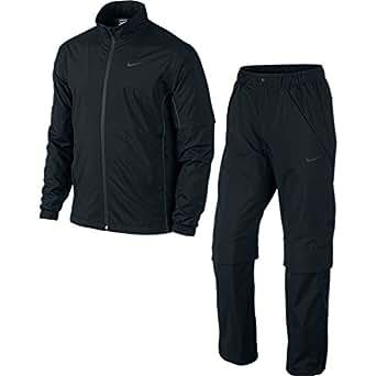 (ナイキゴルフ)NIKE Golf STORM-FIT コンバーチブルレインスーツ 617866 010 ブラック/アンスラサイト/アンスラサイト/(ブラック) L