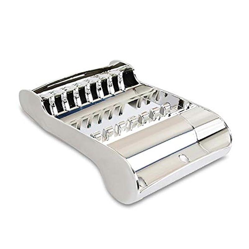 コールモードフラグラントはさみのディスプレイラック毎日のはさみ収納ラックツールホルダー用ヘアスタイリスト20.5 13.8 5.5cm