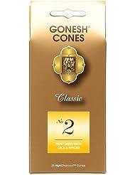 ガーネッシュ(GONESH) ナンバー インセンス コーン No.2 25個入