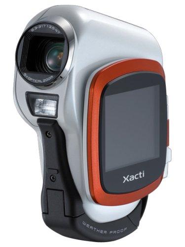 SANYO デジタルムービーカメラ Xacti DMX-CA6 オレンジ (生活防水)