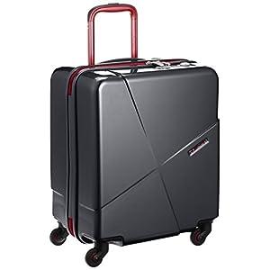 [ヒデオワカマツ] スーツケース マックスキャビン2 ポリカーボネート100% 容量42L 縦サイズ50cm 重量3kg 85-76171 1 ブラック ブラック