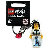 【グッズ-レゴショップ・クリックブリック限定】 852711 レゴ パイレーツ 提督の娘 キーチェーン(キーリング) / LEGO PIRATES Admiral's Daughter Key Chain(Keyring・Bag Charm)[ヘッダー付パッケージ]