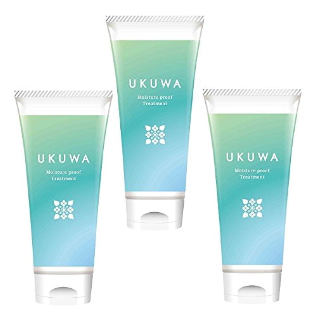 デッキ流すメタリックディアテック UKUWA(ウクワ)(雨花)モイスチャー プルーフ トリートメント 100g×3本セット