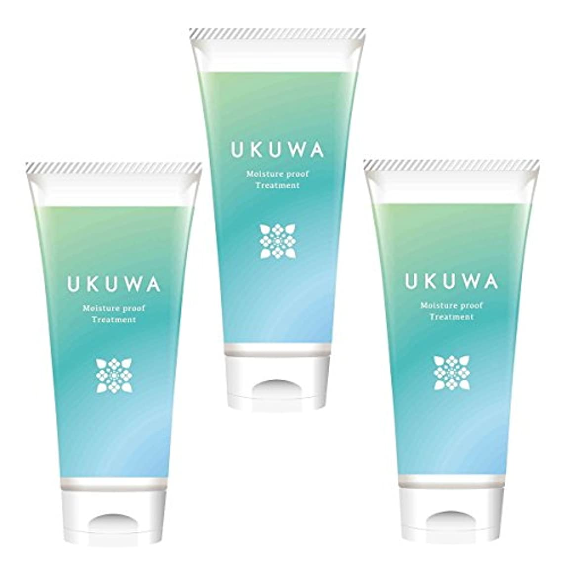 おんどりピケ突っ込むディアテック UKUWA(ウクワ)(雨花)モイスチャー プルーフ トリートメント 100g×3本セット