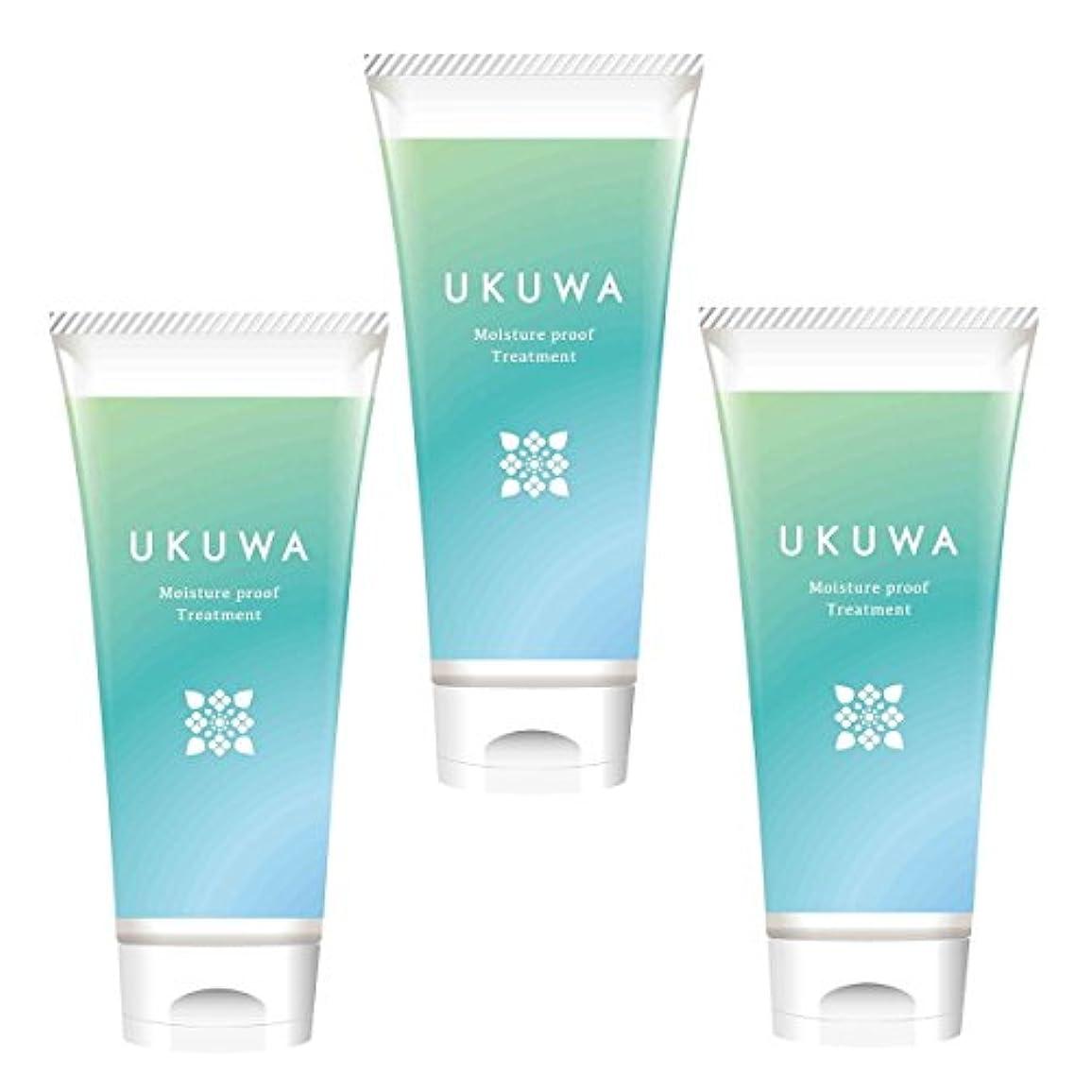 赤ちゃんインスタンスマーキングディアテック UKUWA(ウクワ)(雨花)モイスチャー プルーフ トリートメント 100g×3本セット
