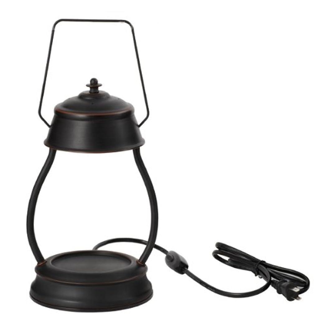 スリーブ持っている測る電球の熱でキャンドルを溶かして香りを楽しむ電気スタンド キャンドルウォーマーランプ (ブラウン)