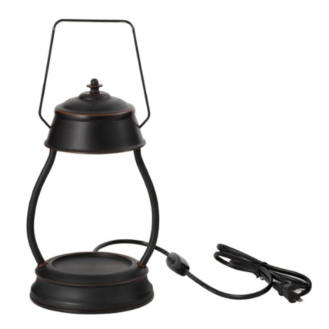 ビジョンフラグラント野ウサギ電球の熱でキャンドルを溶かして香りを楽しむ電気スタンド キャンドルウォーマーランプ (ブラウン)