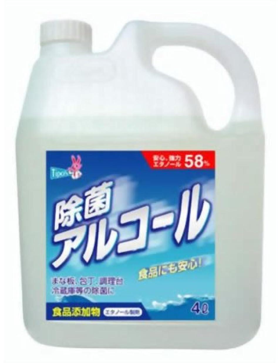振る舞いテメリティ控える【大容量】 ティポス 除菌アルコールスプレー 4L