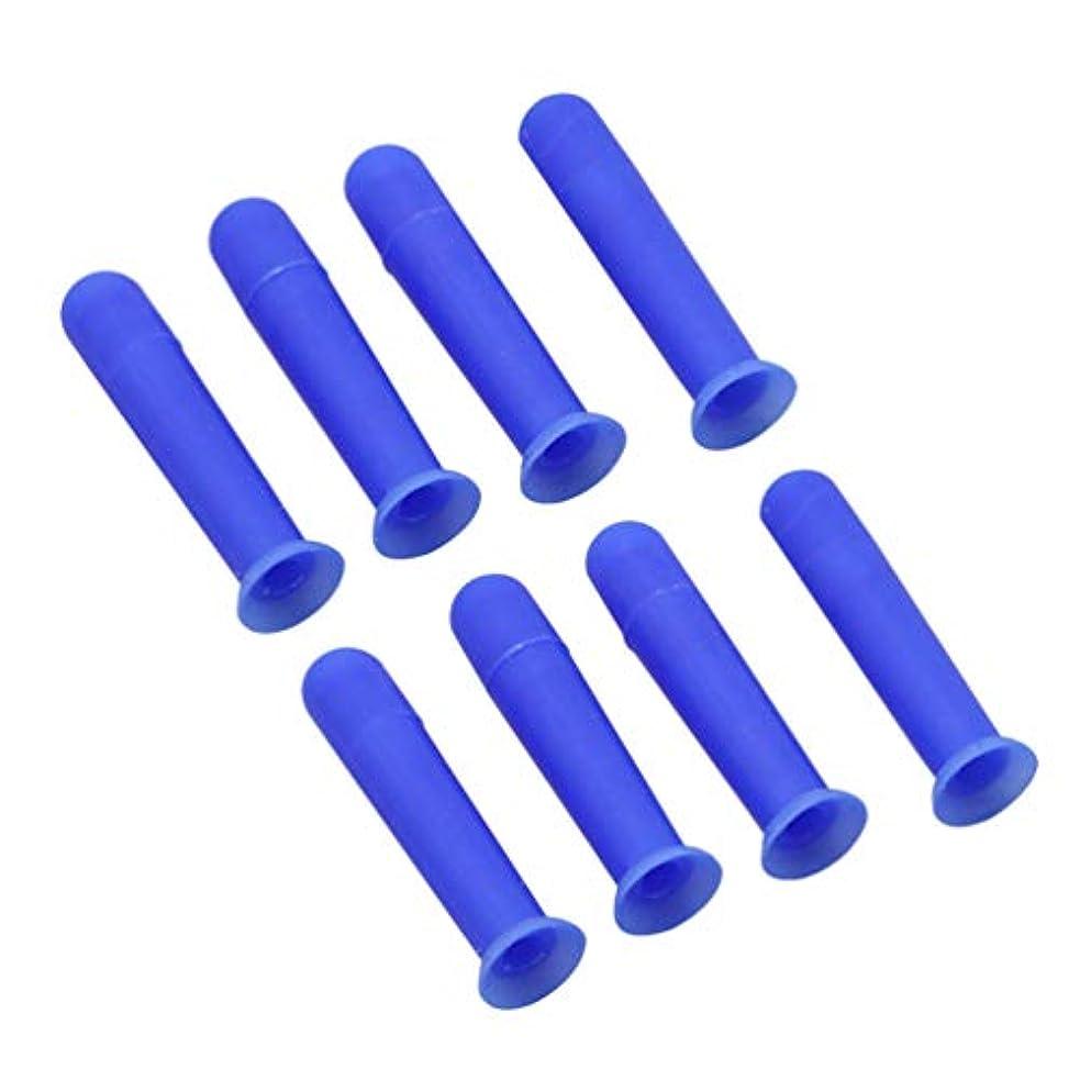 Healifty 8ピース レンズピン コンタクトレンズ 挿入 取り外しツール 装着器具 リムーバー ポータブル ボトル付 旅行 家庭