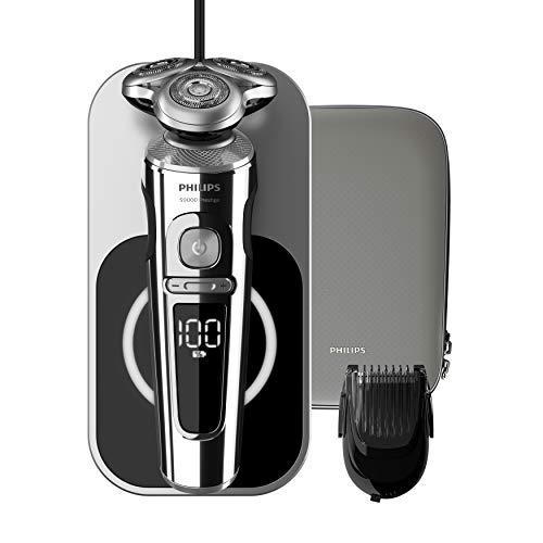 【Amazon.co.jp 限定】フィリップス 9000 プレステージ メンズ 電気シェーバー 72枚刃 回転式 お風呂剃り &...