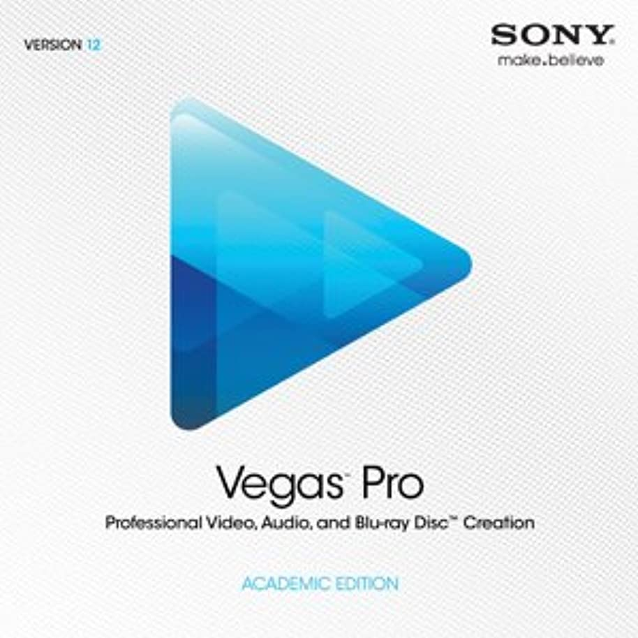 後退する洗練されたこっそりSony ソニー Vegas Pro 12 ACADEMIC EDITION アカデミック版 ベガス プロ 12 [並行輸入品]