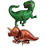 KESOTO 4個 恐竜 風船 バルーン 装飾 おもちゃ