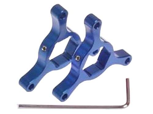 イニシャルアジャスター 14mm ブルー アルマイトコーティング加工 YZF-R1(98-11) YZF-R06(08) FZ-1(07-11) XJR1300(04-09) GSX-R1000(01-06) SV1000S(~06)B-KING ZX-10R '04~現行 ZRX1200(04~07)