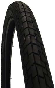 武田産業 パンクしにくいタイヤ 27x1 3/8WO ブラック S107D27