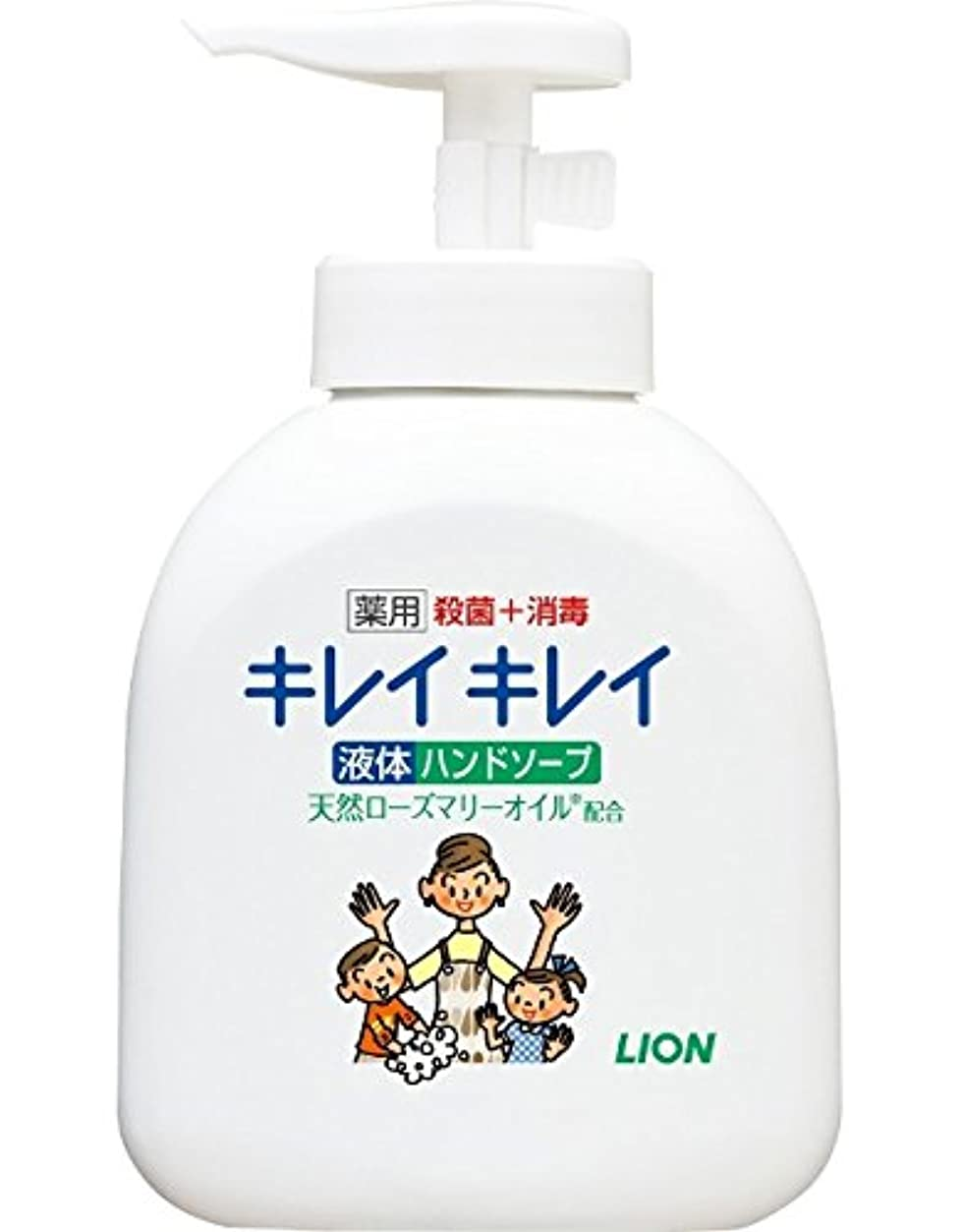 パプアニューギニアウェブ膨らみキレイキレイ 薬用 液体ハンドソープ 本体ポンプ 250ml(医薬部外品)