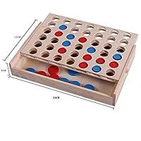 早期の子供用玩具 親子教育玩具 ゴム製 木製箱入り マルチカラー 4つのチェス