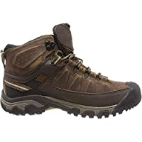 KEEN Shoes Men's Targhee III Mid WP Shoes, Big Ben and Golden Brown, 12 AU