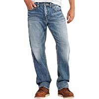 Silver Jeans Co. Men's Big and Tall Grayson Straight Leg