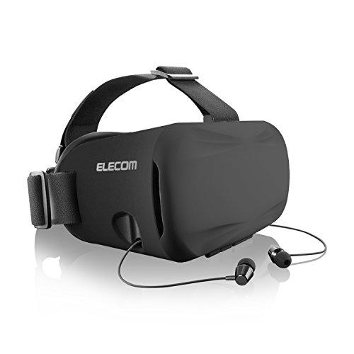 [해외]엘레 컴 VR 고글 VR 글라스 헤드 마운트 용 인나 카메라 렌즈를 가리지 않는 투명 커버를 채용/Elecom VR goggle VR glass head mount for inner ear type adopt transparent cover that does not block camera lens