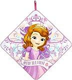 丸眞 ループタオル ディズニー ちいさなプリンセス ソフィア 33×33cm プリンセスブルーム お名前ネーム付き 2075066200