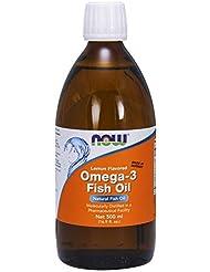 [海外直送品] ナウフーズ  Omega-3 Fish Oil Lemon Lemon 16.9 oz