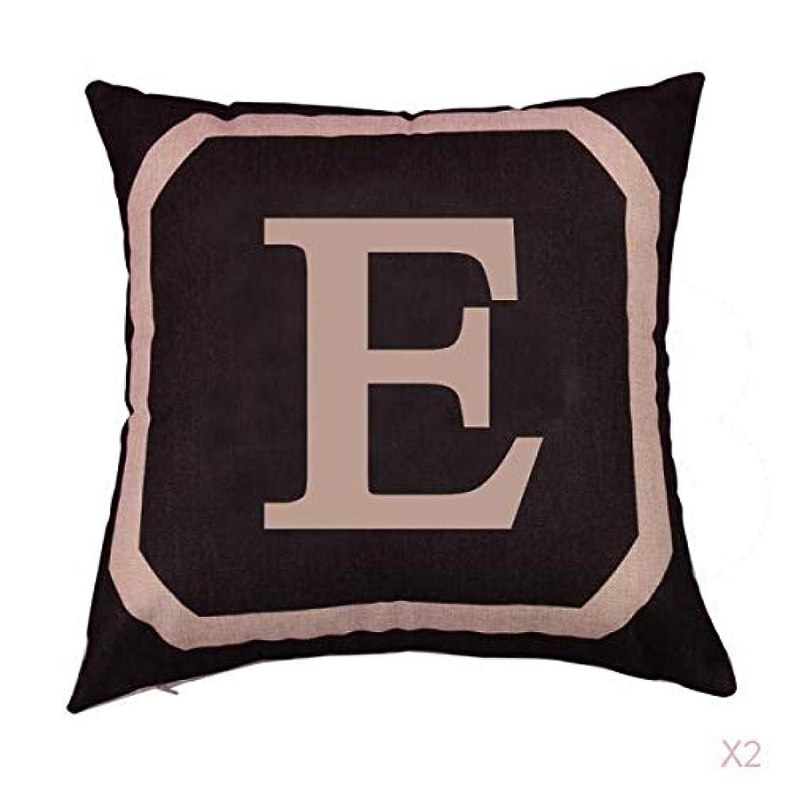 ストレージショッピングセンター晩ごはんFLAMEER 正方形の綿のリネンスローピローケース腰クッションカバーベッドソファ装飾電子
