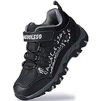 DADAWEN Boy's Girl's Running Shoes Waterproof Outdoor Hiking Athletic Sneakers (Toddler/Little Kid/Big Kid)