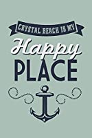 Texas–クリスタルビーチis my happy place 24 x 36 Giclee Print LANT-56882-24x36