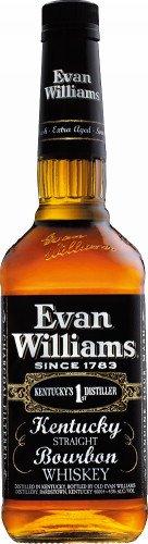 バカルディ Evan Williams ブラックラベル [ ウイスキー アメリカ合衆国 750ml ] B003NBH5EC 1枚目