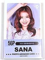 TWICE トゥワイス SANA サナ ミニ フォトカード トレカ 56枚セット #2 [ 韓国製 ]