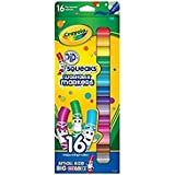 Crayola 58 8703 16 Pip-Squeaks Markers, 16 Count