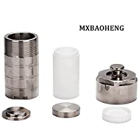Hydrothermal Autoclave Reactor + Teflon Chamber Synthesis vessel kettle 25ml by MX