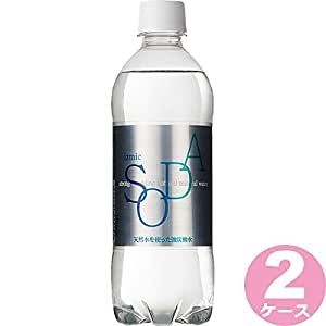 【2CS】イズミック SODA(ソーダ)鈴鹿山脈の天然水 強炭酸水 500ml ×48本(個)