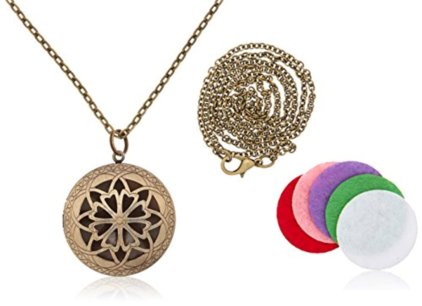 準備する相互愛撫Locket Necklace Diffuser 1.15