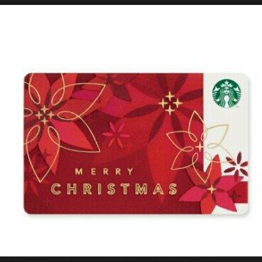 スタバ 2014年 ホリデー 限定 カード クリスマス...