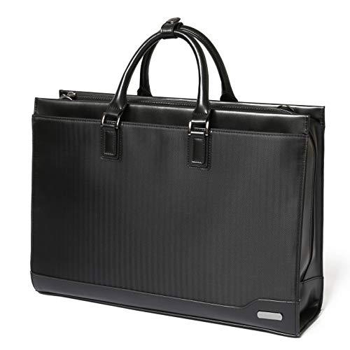 SLOTAM ビジネスバッグ メンズ ブラック PCバッグ A4対応 防水 15.6インチ