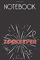 ZOOKEEPER Notebook, Simple Design: Notebook /Journal Gift,Simple Cover Design,100 pages, 6x9, Soft cover, Mate Finish