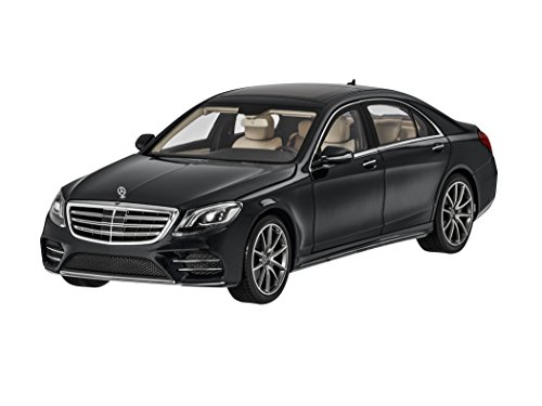 【Mercedes-Benz Collection】 Sクラス セダン 1:18 オブシディアンブラ...
