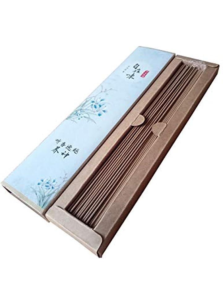 お線香 天然素材 煙の少ない 沈香 お徳用(长寸21cm 100本入)